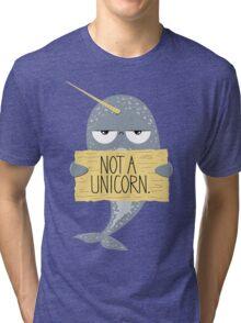 Not A Unicorn Tri-blend T-Shirt