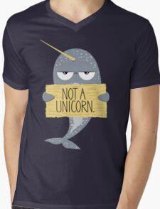 Not A Unicorn Mens V-Neck T-Shirt