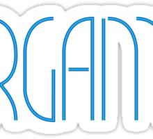 Warehouse 13 Fargames Logo Sticker