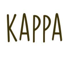 Floral Kappa  Wreath Sticker
