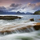 Isle of Skye: A Calmer Panorama by Angie Latham