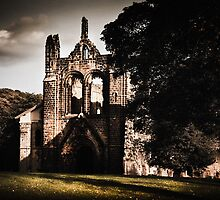 Kirkstall Abbey by Neil Messenger