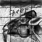 Mutant sheep madness drawing 2 by Followthedon