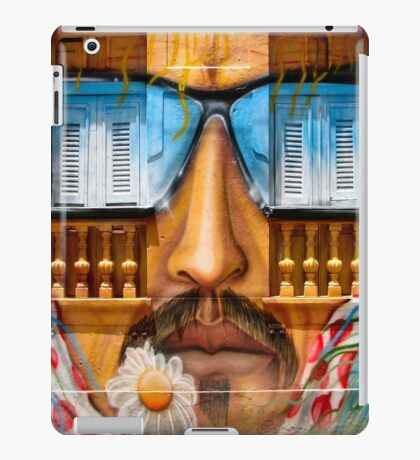 Sunglasses Graffiti Wall iPad Case/Skin