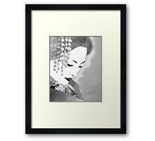 The Geisha Framed Print