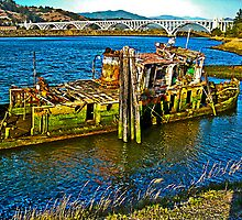 Low Tide at the Mary D. Hume by Bryan D. Spellman
