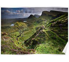 Skye: Heather, Hawthorn & Light Poster