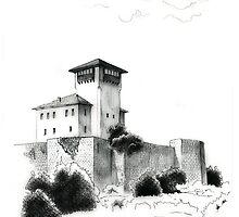Gradacac, Kula Husein Kapetana by Emir Isovic