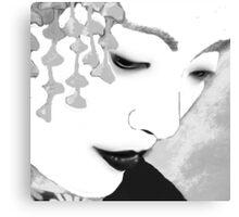 The Geisha-Close-up Canvas Print