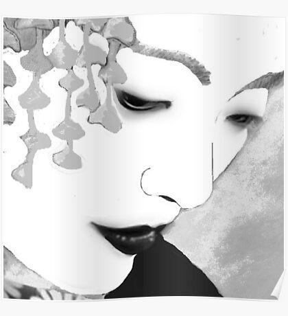 The Geisha-Close-up Poster