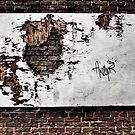 forlorn & torn...(Wall and forgotten billboard, The Beach, Toronto, Ontario, Canada) by Russ Styles