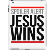Jesus Wins iPad Case/Skin