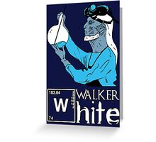 Walker White Greeting Card