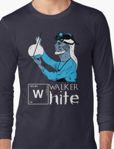 Walker White Long Sleeve T-Shirt