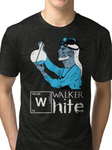 Walker White Tri-blend T-Shirt