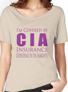 cia insurance Women's Relaxed Fit T-Shirt