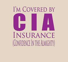 cia insurance Unisex T-Shirt