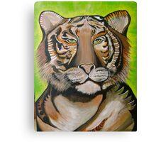 Tiger Power Canvas Print