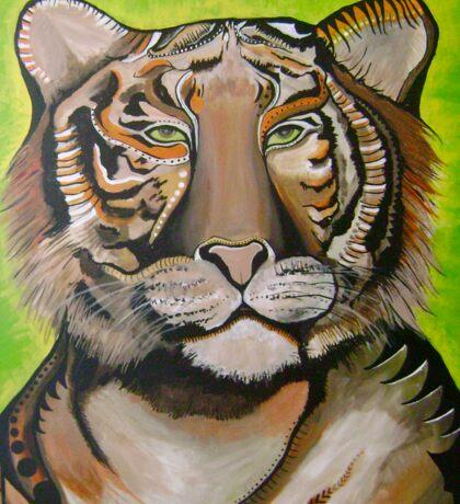 Tiger Power Sticker