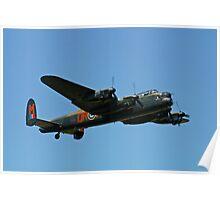 Battle of Britain Memorial Flight Lancaster Poster
