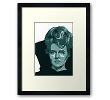 Amanda Greyson from Star Trek TOS Framed Print