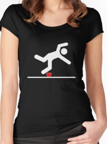 Fall in Love Women's Fitted Scoop T-Shirt