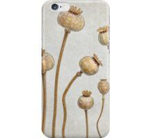 Poppy pods iPhone Case/Skin