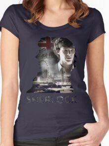 Sherlock Women's Fitted Scoop T-Shirt