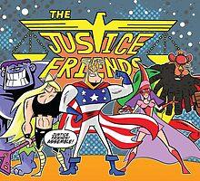 Justice Friends by KingdomofKeys