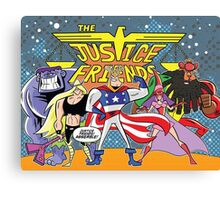 Justice Friends Canvas Print