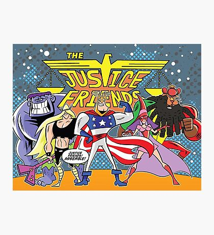 Justice Friends Photographic Print