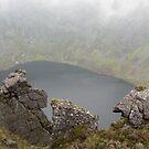 Coumshingaun Lake,Comeragh Mountains,Co.Waterford. by Pat Duggan