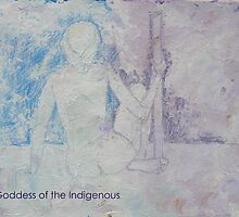 Goddess of the Indigenous by Glen Ladegaard AUSTRALIA