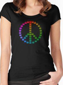 Kombi Peace Shirt Women's Fitted Scoop T-Shirt
