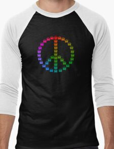 Kombi Peace Shirt Men's Baseball ¾ T-Shirt