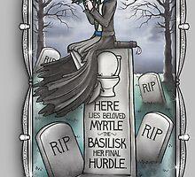 Grim Grinning Myrtle by PolySciGuy