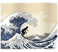 The Great Surfer off Kanagawa Poster