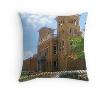 Courthouse Throw Pillow