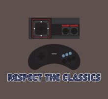 SEGA Retro Gaming Respect the Classics by Christopher Bunye