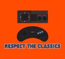 SEGA Retro Gaming Respect the Classics Kids Clothes