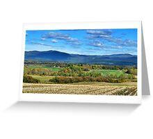 Ride through Vermont  Greeting Card