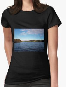 Looking Back Womens Fitted T-Shirt
