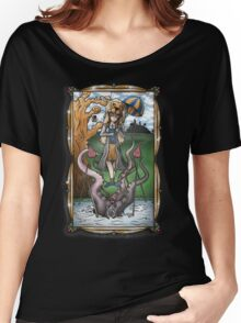 Luna's Haunting Trapeze Act Women's Relaxed Fit T-Shirt