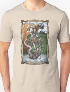 Luna's Haunting Trapeze Act Unisex T-Shirt