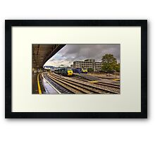 The Old and New Order at Temple Meads  Framed Print