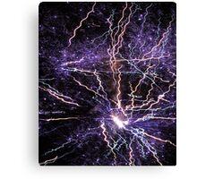 Electrical Sky Canvas Print