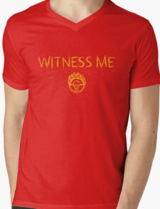 Witness Me Mens V-Neck T-Shirt