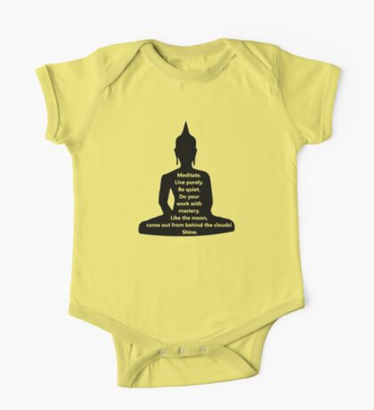 Buddha Sayings One Piece - Short Sleeve