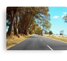 Outback Highway Canvas Print