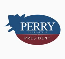 Perry the Platypus for President One Piece - Long Sleeve